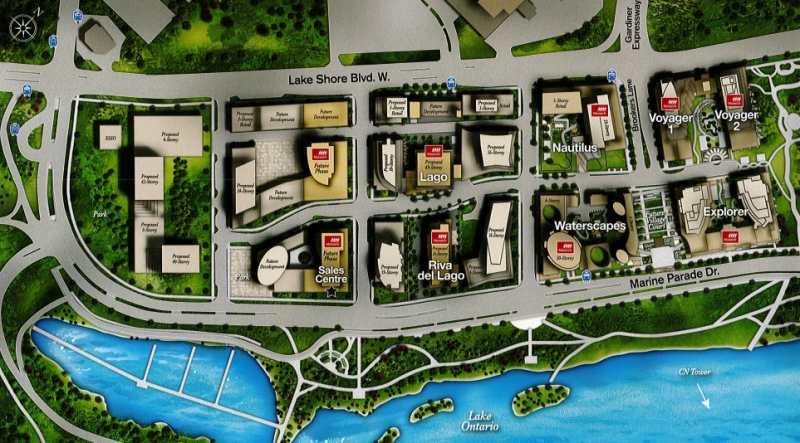 Riva del Lago at 2151 Lake Shore Boulevard West, Toronto, Ontario. Image 4