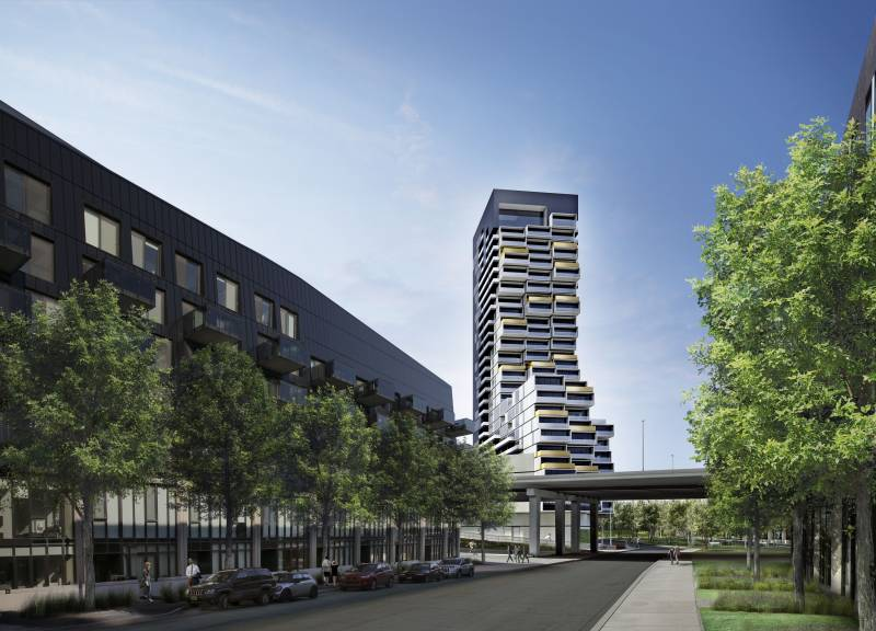 River City Phase 3 at Eastern Avenue & Saint Lawrence Street, Toronto, Ontario. Image 2