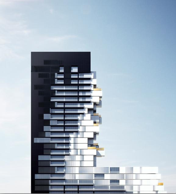 River City Phase 3 at Eastern Avenue & Saint Lawrence Street, Toronto, Ontario. Image 3