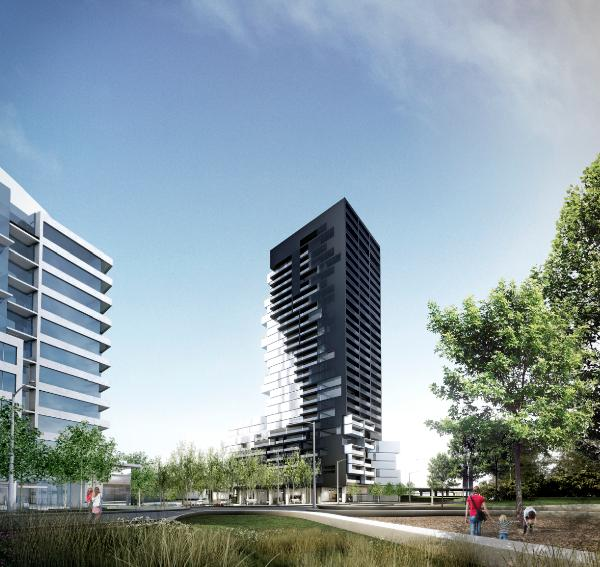 River City Phase 3 at Eastern Avenue & Saint Lawrence Street, Toronto, Ontario. Image 7