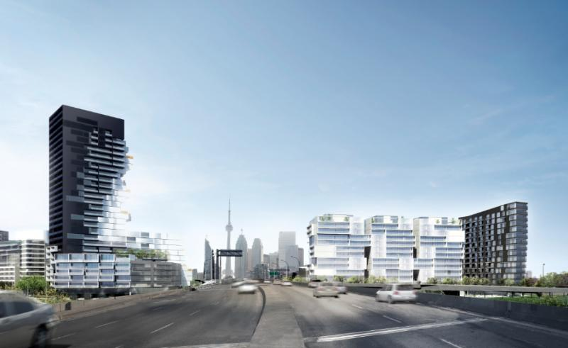 River City Phase 3 at Eastern Avenue & Saint Lawrence Street, Toronto, Ontario. Image 12
