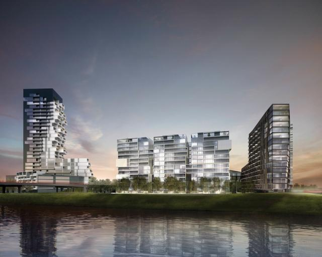 River City Phase 3 at Eastern Avenue & Saint Lawrence Street, Toronto, Ontario. Image 13