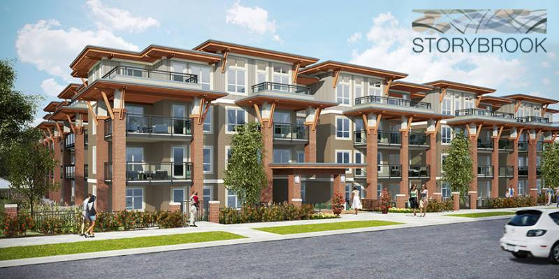 Storybrook Condos at 18th St & Stride Avenue, Burnaby, British Columbia. Image 1