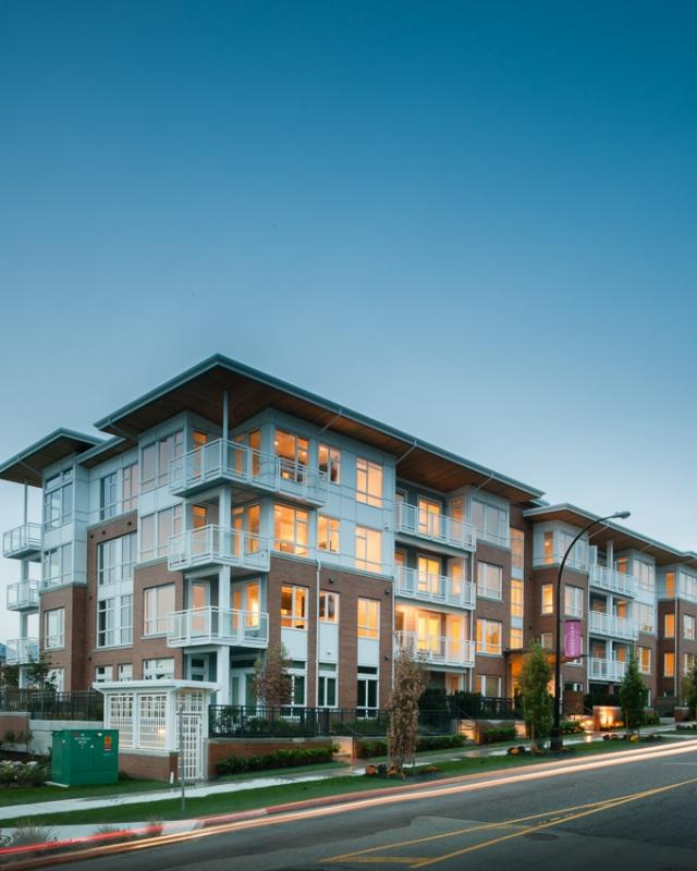 The Residences at Queen Mary at 717 Chesterfield Avenue, North Vancouver, British Columbia. Image 2