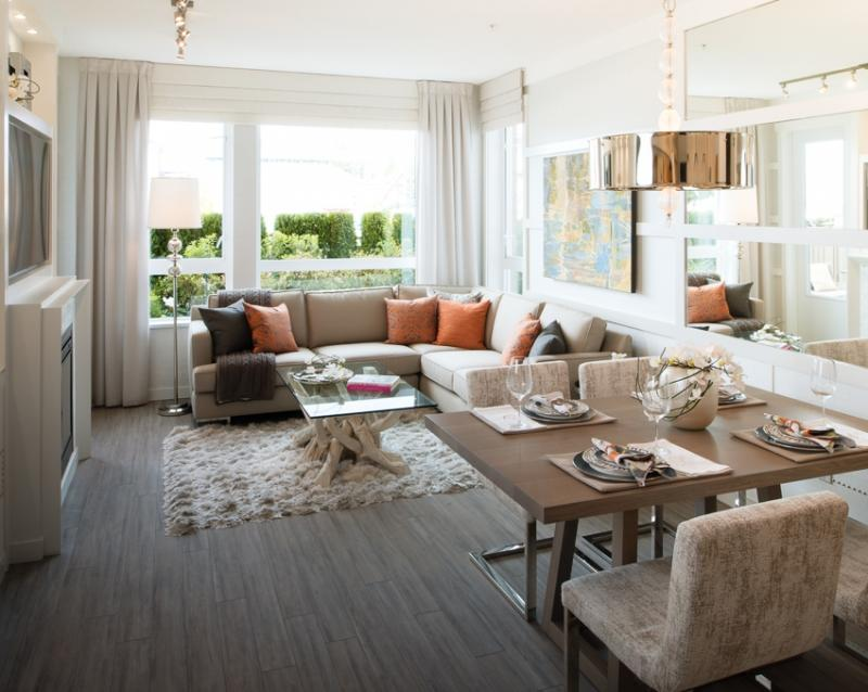 The Residences at Queen Mary at 717 Chesterfield Avenue, North Vancouver, British Columbia. Image 4