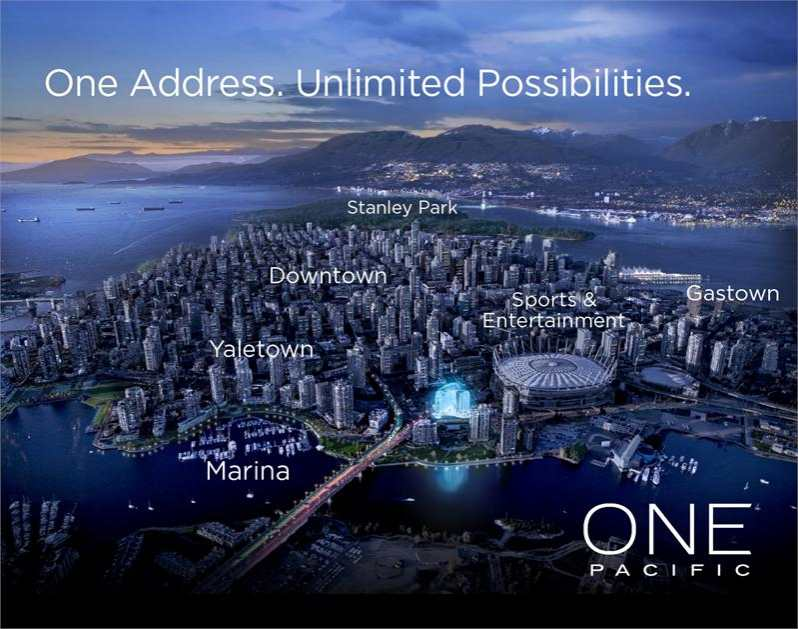 One Pacific at Pacific Street, Vancouver, British Columbia. Image 3