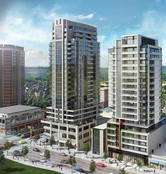 The Barrington Condos at 1486 Bathurst Street, Toronto, Ontario. Image 1