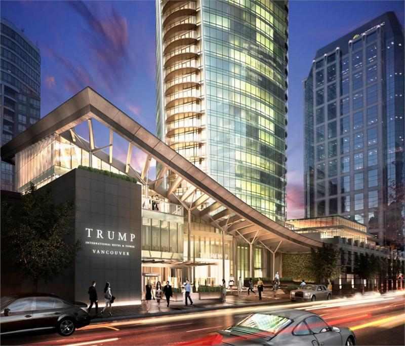 Trump Tower Vancouver at 1151 W Georgia Street, Vancouver, British Columbia. Image 1