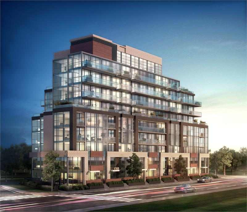 Residences at The Hunt Club at 1350 Kingston Road, Toronto, Ontario. Image 2