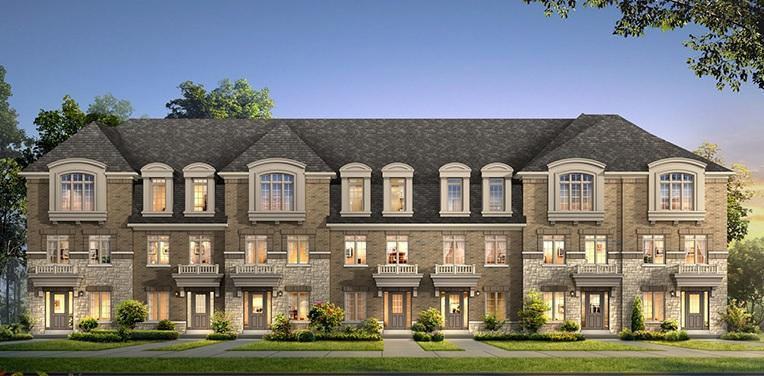The Residences of Bishop's Gate at Woodbine Avenue & Woodbine Avenue Bypass, Markham, Ontario. Image 1