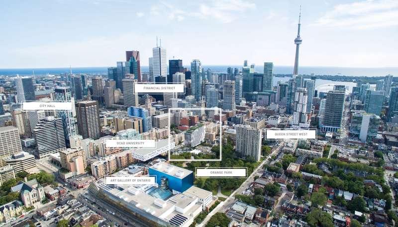 Form Condos at 50 McCaul Street, Toronto, Ontario. Image 2