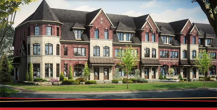 The Townes of Richview at Eglinton Avenue West & Kipling Avenue, Toronto, Ontario. Image 1