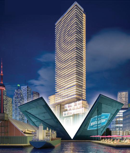 Daniels Waterfront- West Tower at 132 Queens Quay E, Toronto, Ontario. Image 10