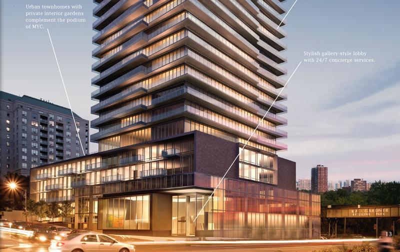 MYC - Merton Yonge Condominiums at 1815 Yonge Street, Toronto, Ontario. Image 3