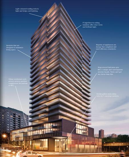 MYC - Merton Yonge Condominiums at 1815 Yonge Street, Toronto, Ontario. Image 9
