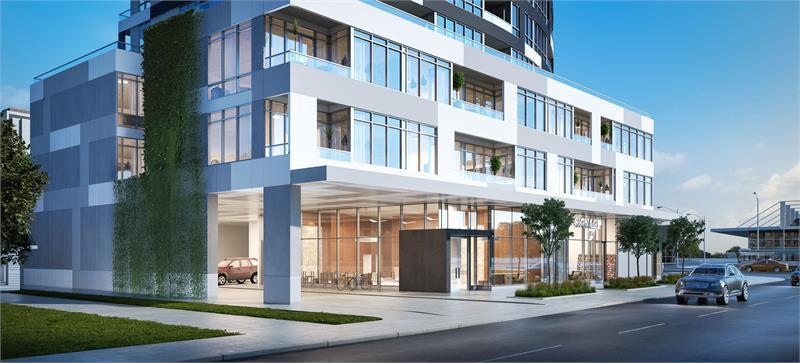 Futura Condos at 1050 Sheppard Avenue West, Toronto, Ontario. Image 3