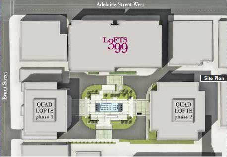 Lofts 399 at 399 Adelaide St W, Toronto, Ontario. Image 3