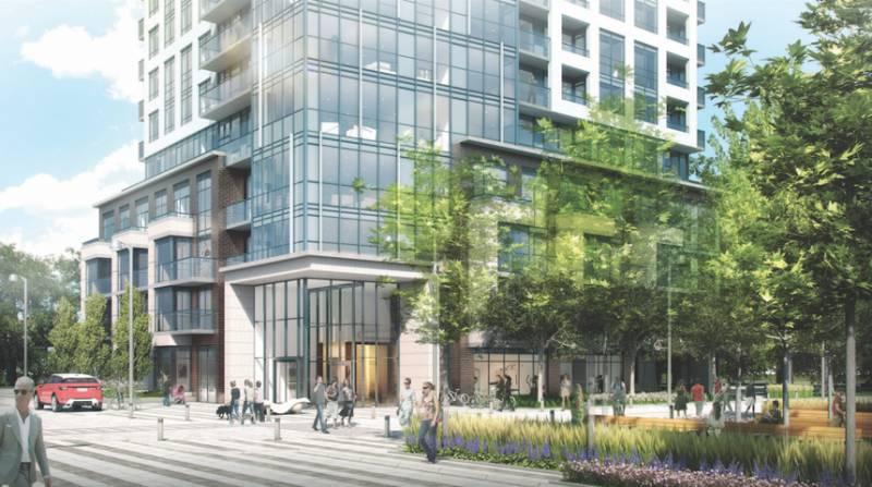 The Kip District- Tower One at Kipling Avenue & Dundas Street West, Toronto, Ontario. Image 1