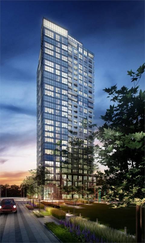 The Kip District- Tower One at Kipling Avenue & Dundas Street West, Toronto, Ontario. Image 3