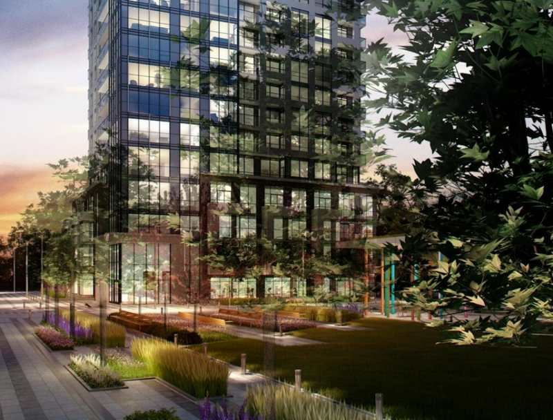 The Kip District- Tower One at Kipling Avenue & Dundas Street West, Toronto, Ontario. Image 4
