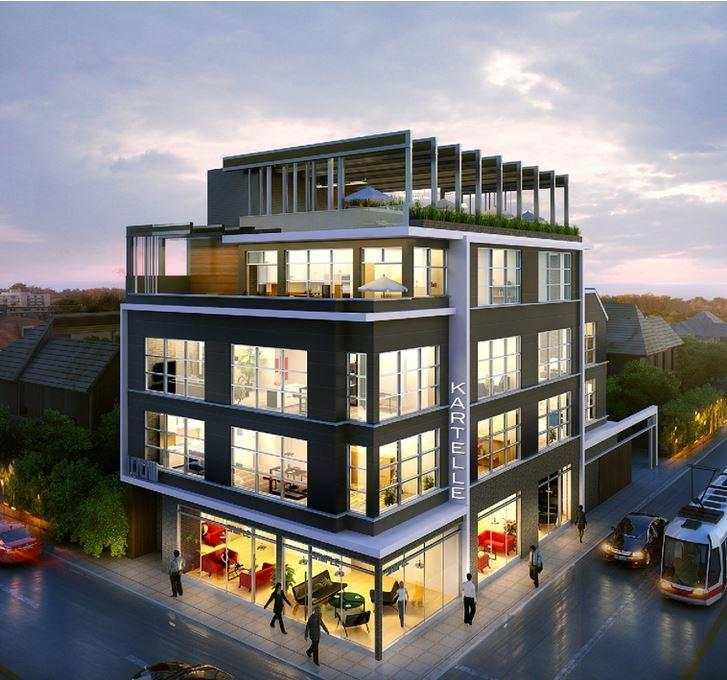 Lofts on Queen at 1003 Queen Street E, Toronto, Ontario. Image 2