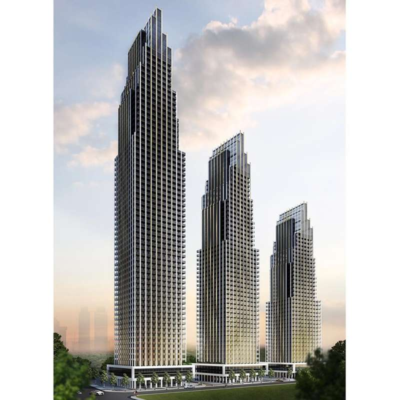 Edge Towers at 24 Elm Drive West, Mississauga, Ontario. Image 4