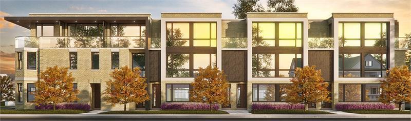 Sylvan Collection Urban Townhomes at 44 Havelock Street, Toronto, Ontario. Image 3