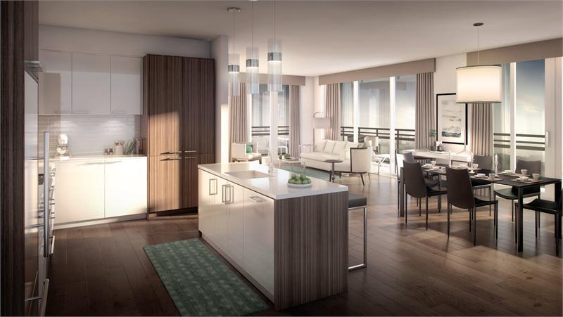 The Craftsman Condominium Residences at 1575 Lakeshore Road West, Mississauga, Ontario. Image 3