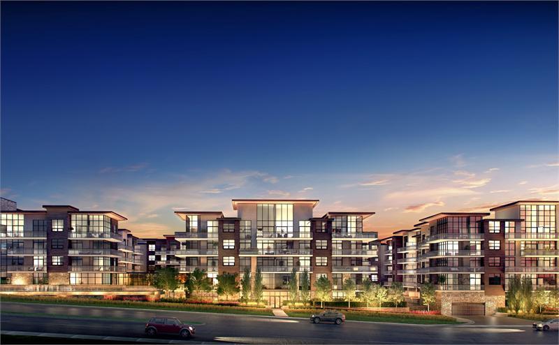 The Craftsman Condominium Residences at 1575 Lakeshore Road West, Mississauga, Ontario. Image 4