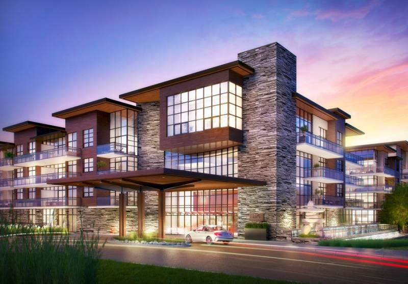 The Craftsman Condominium Residences at 1575 Lakeshore Road West, Mississauga, Ontario. Image 5