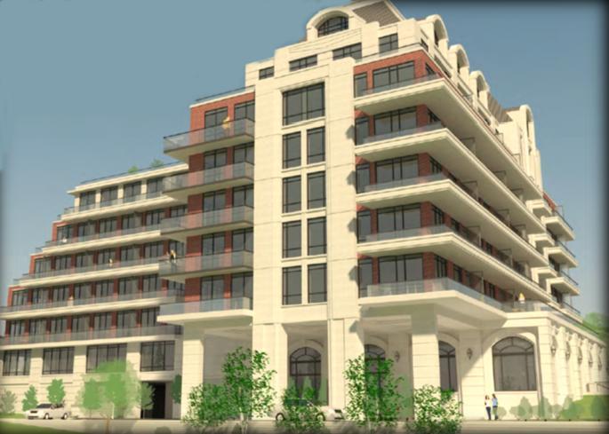 Boutik Condominiums at Hwy 7 and Islington Avenue, Vaughan, Ontario. Image 1