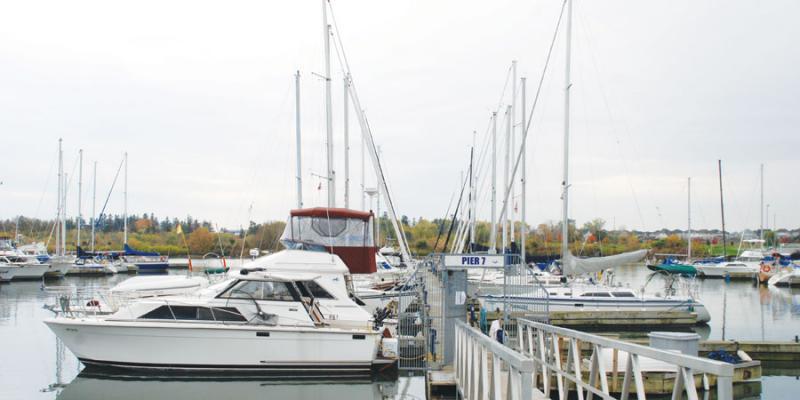 Harbourside Condominiums at 670 Gordon Street, Whitby, Ontario. Image 6
