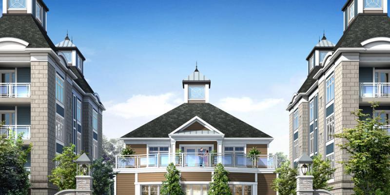 Harbourside Condominiums at 670 Gordon Street, Whitby, Ontario. Image 7