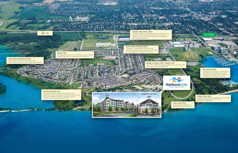 Harbourside Condominiums at 670 Gordon Street, Whitby, Ontario. Image 9