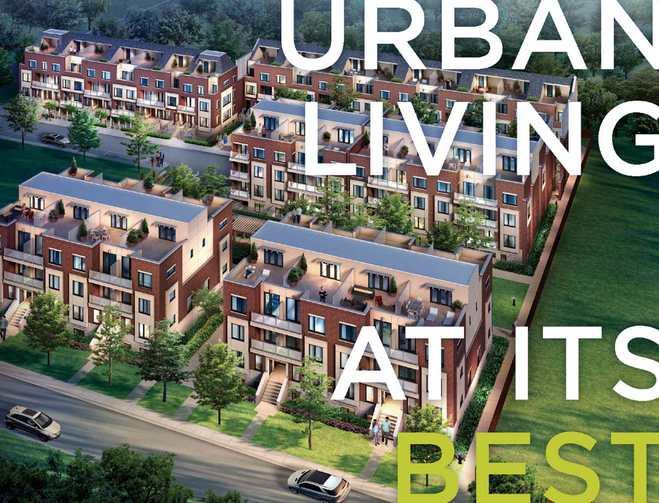 Royal York Urban Towns at 250 Royal York Road, Toronto, Ontario. Image 4