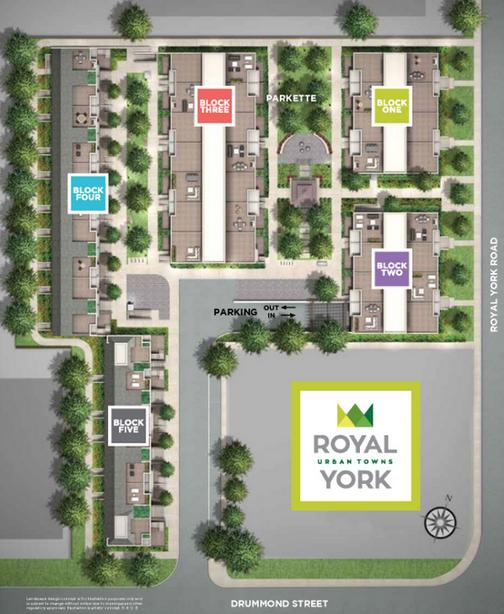 Royal York Urban Towns at 250 Royal York Road, Toronto, Ontario. Image 8
