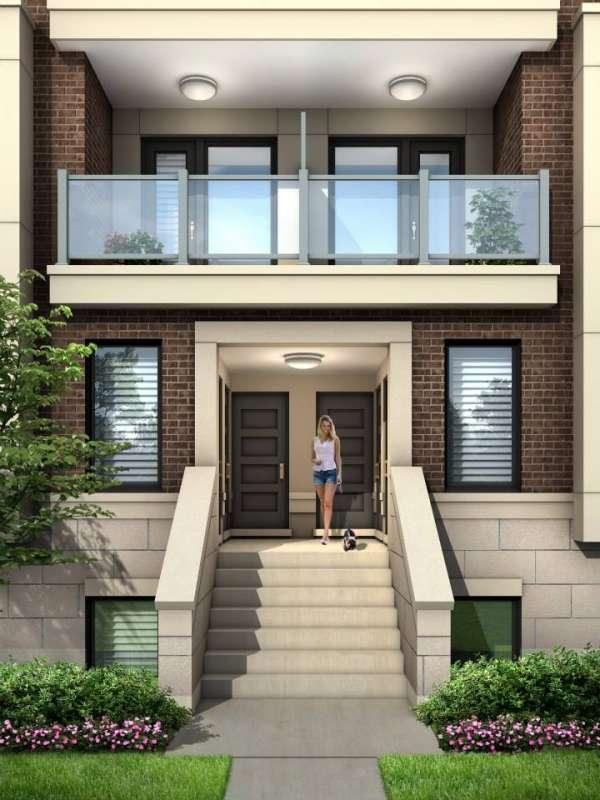 Royal York Urban Towns at 250 Royal York Road, Toronto, Ontario. Image 9