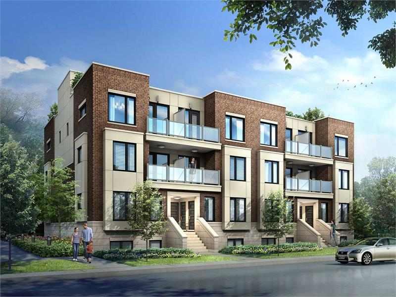 Royal York Urban Towns at 250 Royal York Road, Toronto, Ontario. Image 11