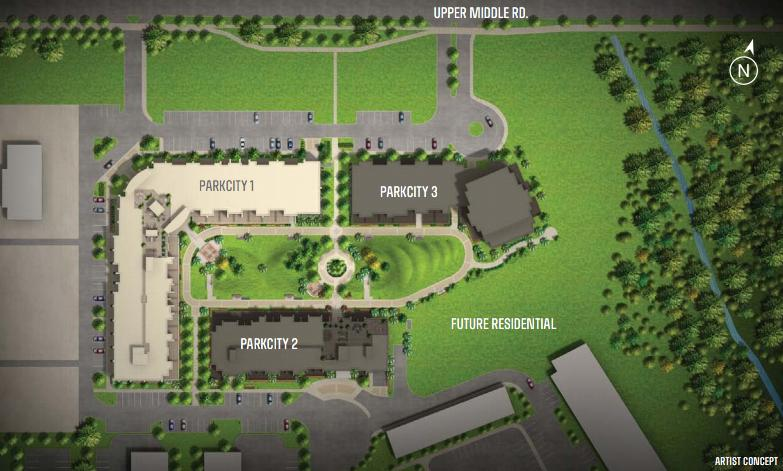 Park City 2 at 3040 Upper Middle Road, Burlington, Ontario. Image 4