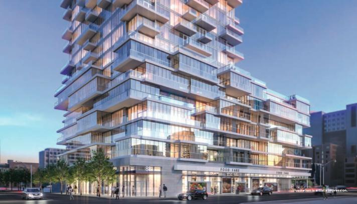 88 North Condos at 88 Queen Street East, Toronto, Ontario. Image 2