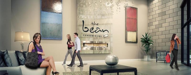 The Bean Condominiums at Dufferin Street & Hopewell Avenue, Toronto, Ontario. Image 1