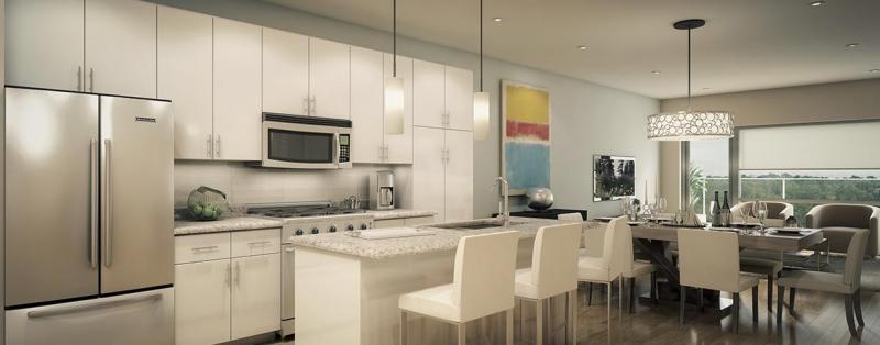 The Bean Condominiums at Dufferin Street & Hopewell Avenue, Toronto, Ontario. Image 3