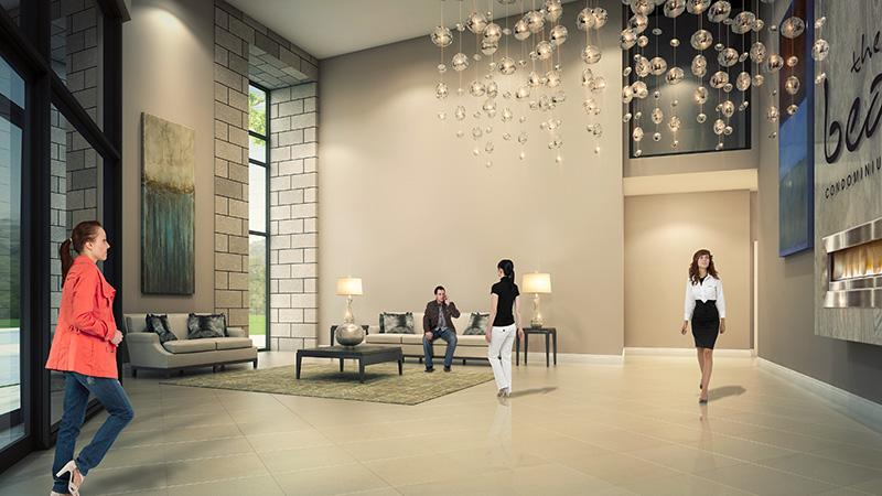 The Bean Condominiums at Dufferin Street & Hopewell Avenue, Toronto, Ontario. Image 4