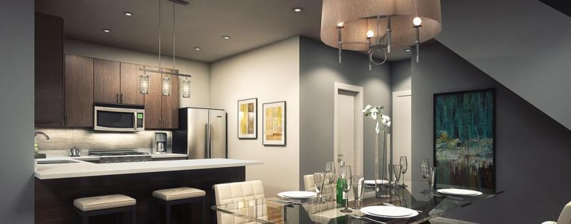 The Bean Condominiums at Dufferin Street & Hopewell Avenue, Toronto, Ontario. Image 7