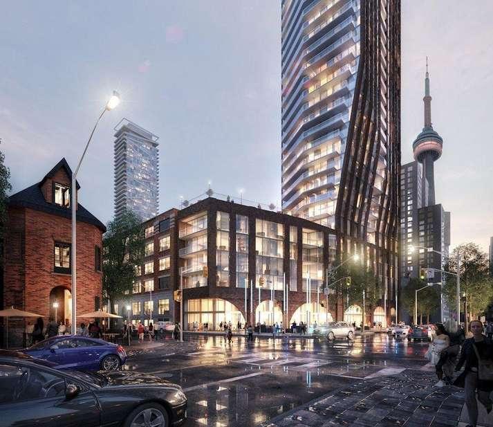 The PJ Condos at 283 Adelaide Street West, Toronto, Ontario. Image 3