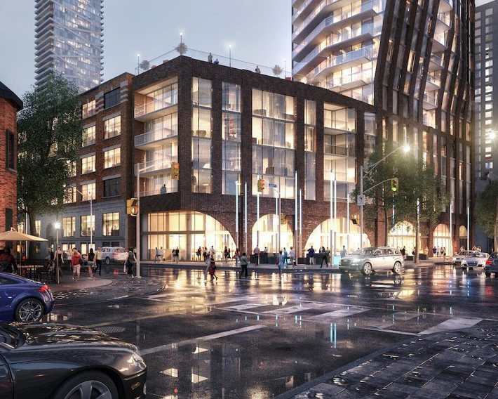 The PJ Condos at 283 Adelaide Street West, Toronto, Ontario. Image 5