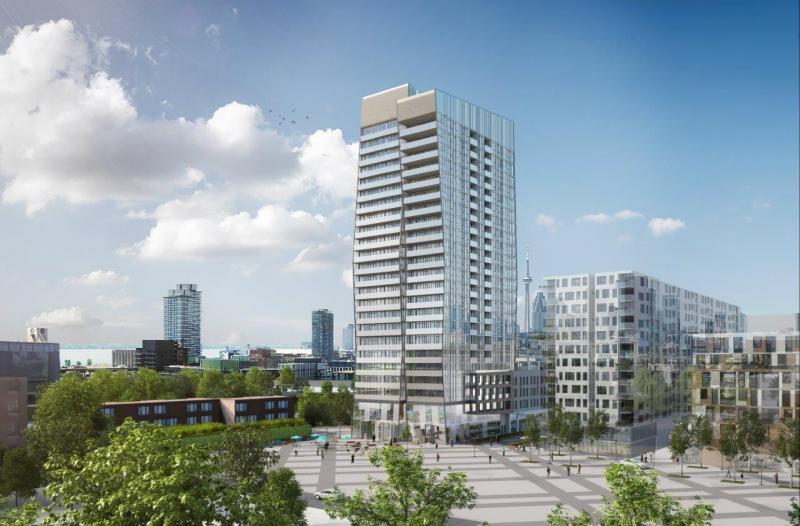 Riverside Square at 677 Queen Street East, Toronto, Ontario. Image 2