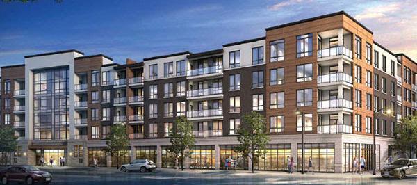 The Neighbourhoods of Oak Park Phase 2 at Oak Park Boulevard & Taunton Road, Oakville, Ontario. Image 6