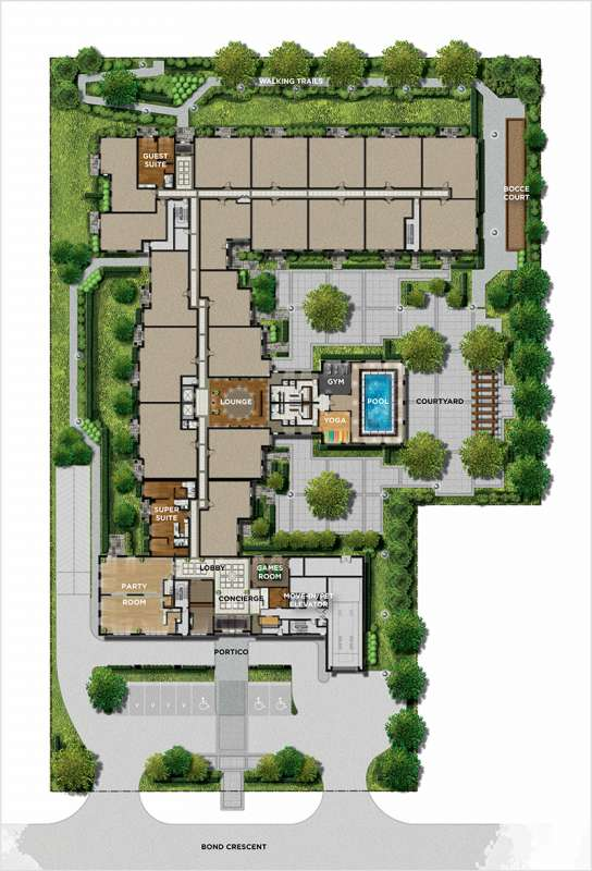 The Sorrento at 7 Bond Crescent, Richmond Hill, Ontario. Image 2
