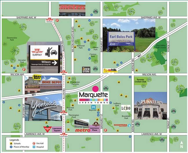 Marquette Urban Towns at 12 Marquette Avenue, Toronto, Ontario. Image 4